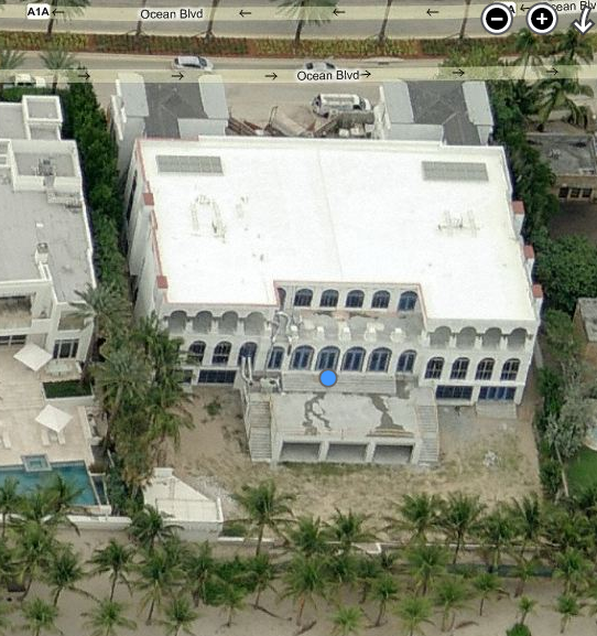 The White Palace – A Newly Built 25,000 Square Foot Mega Mansion In Golden Beach, FL