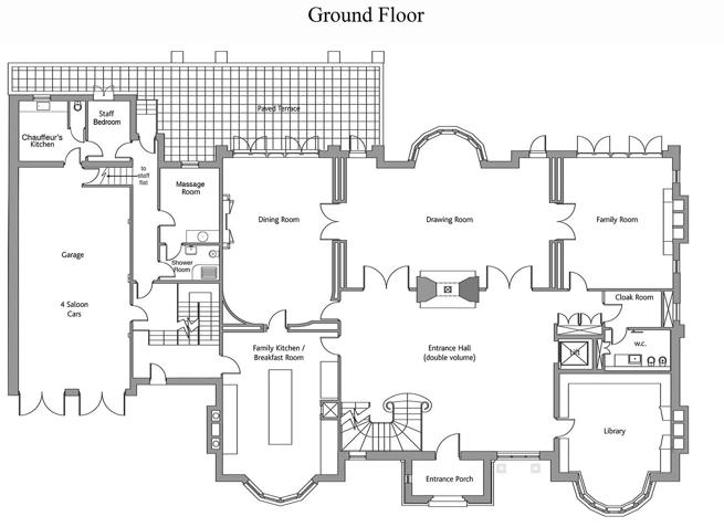 Mansion house london floor plans for 17 carlton house terrace london