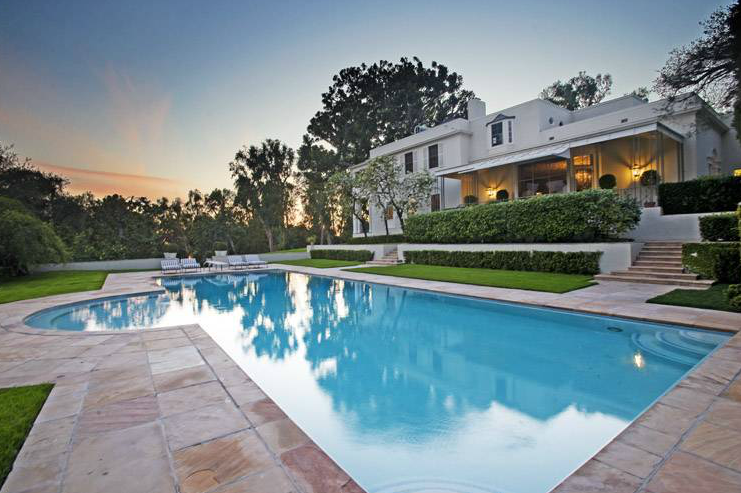 39 Million Historic 1934 Estate In Beverly Hills Ca Homes Of The Rich