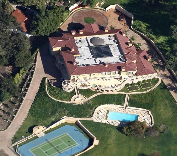 Newly Built Encino Mega Mansion on Luxury Penthouse Floor Plans