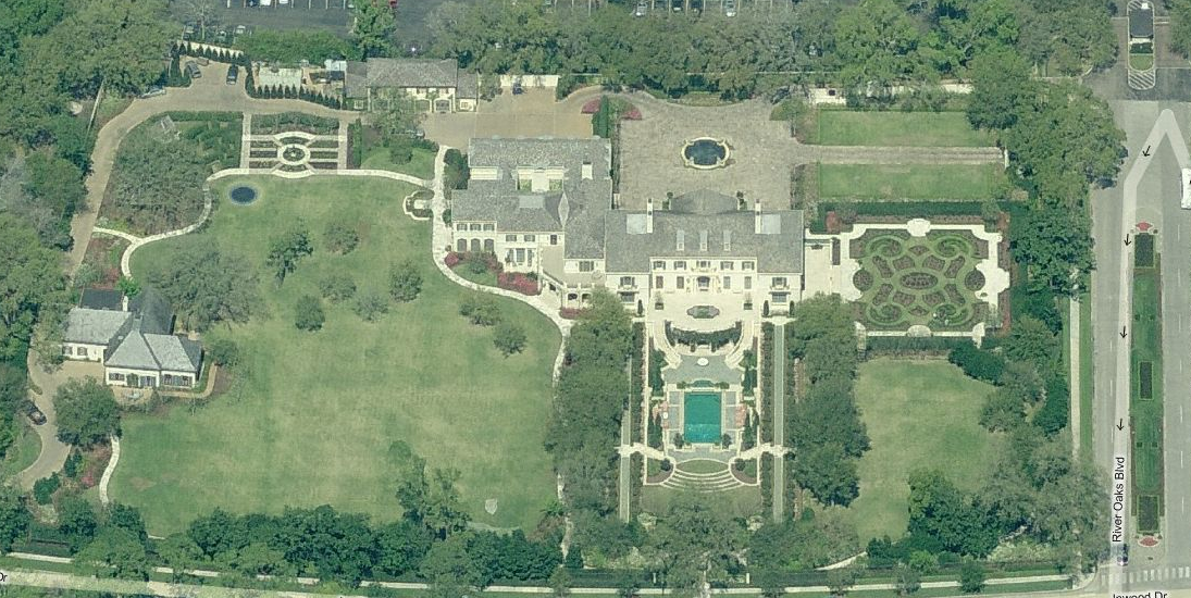 A Look At Some Texas Mansions Homes Of The Rich