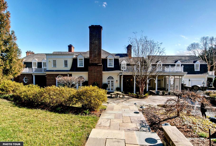$7.5 Million Italian Inspired Estate In Potomac, MD