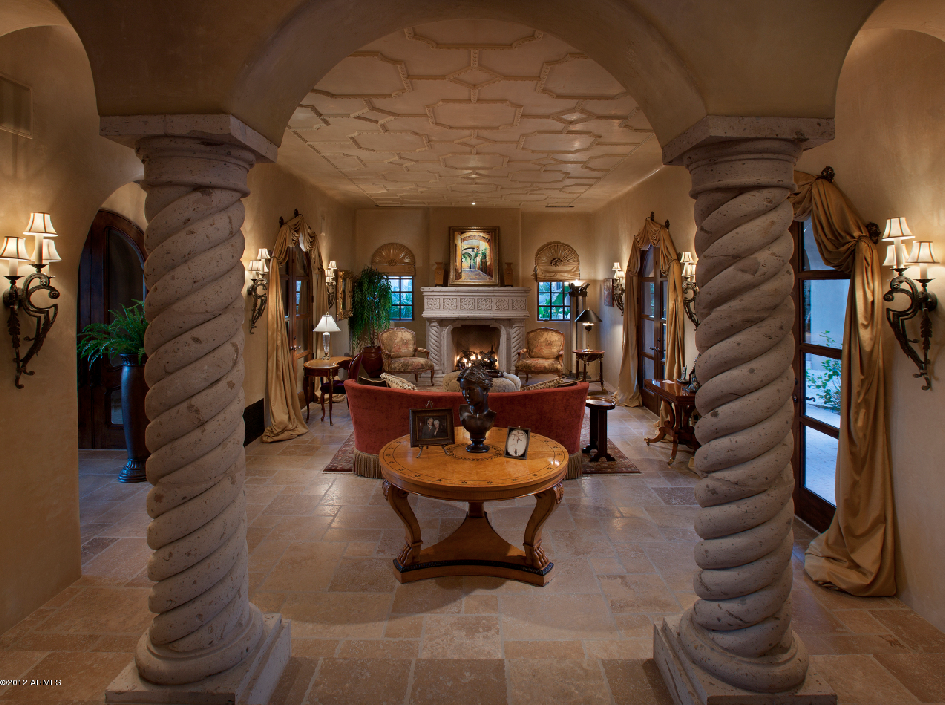 10 000 Square Foot Spanish Style Mansion In Scottsdale Az