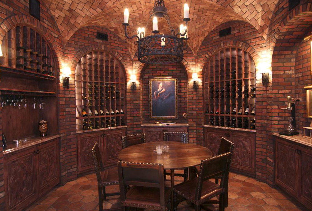 A Collection Of Lavish Wine Cellars Homes The Rich