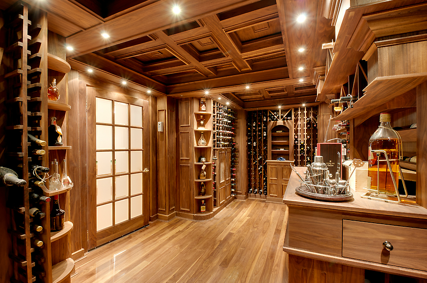 A Collection Of Lavish Wine Cellars Homes Of The Rich
