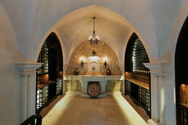 A Collection Of Lavish Wine Cellars