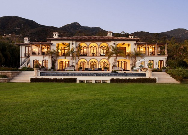 Newly listed 18 9 million mediterranean mansion in montecito ca