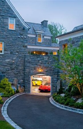 Lavish stone mansion in alpine nj homes of the rich for Alpine nj celebrity homes