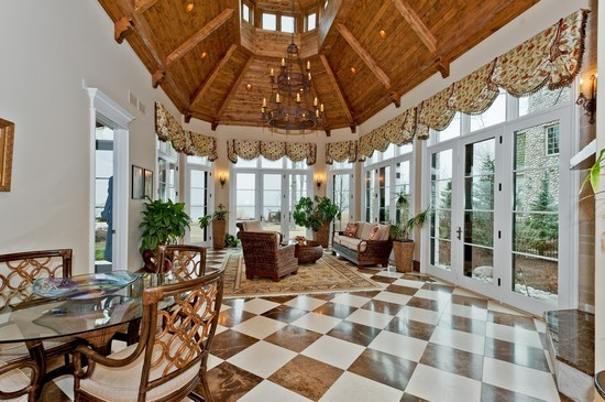 16 Million French Provincial Lakefront Mansion In