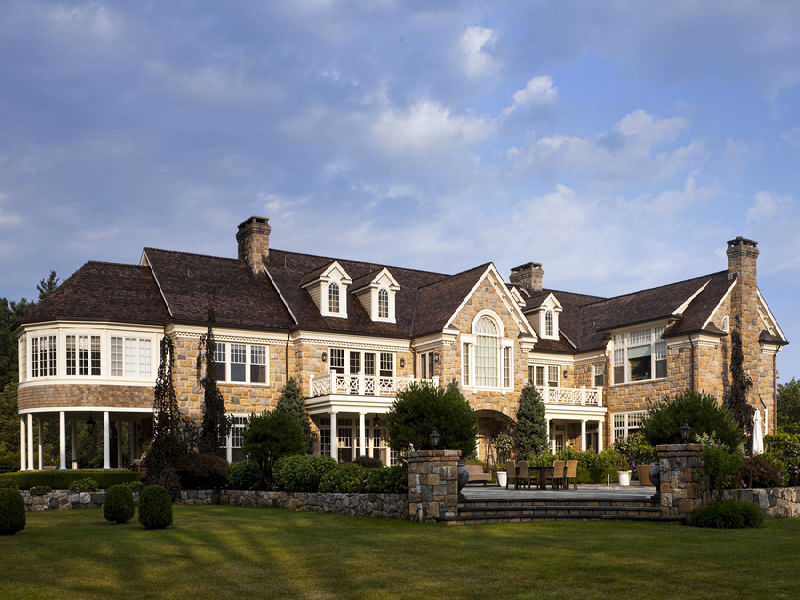 $17.5 Million 15,000 Square Foot Georgian Colonial In Greenwich, CT