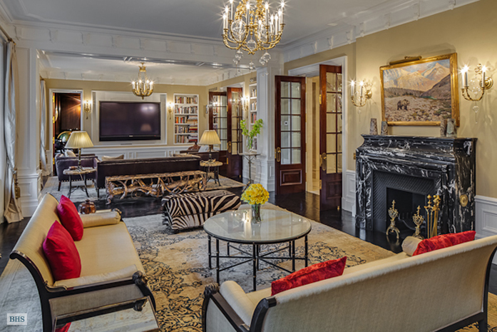 Lavish 23 5 Million Park Avenue Apartment In New York Ny