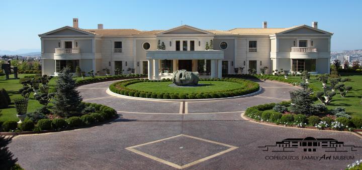 Dimitrios Copelouzos Greece Mega Estate Homes Of The Rich