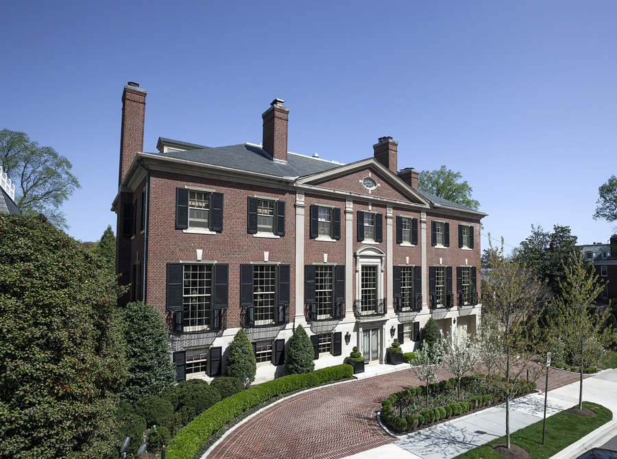 13 7 Million Historic Georgian Mansion In Washington Dc Homes Of The Rich