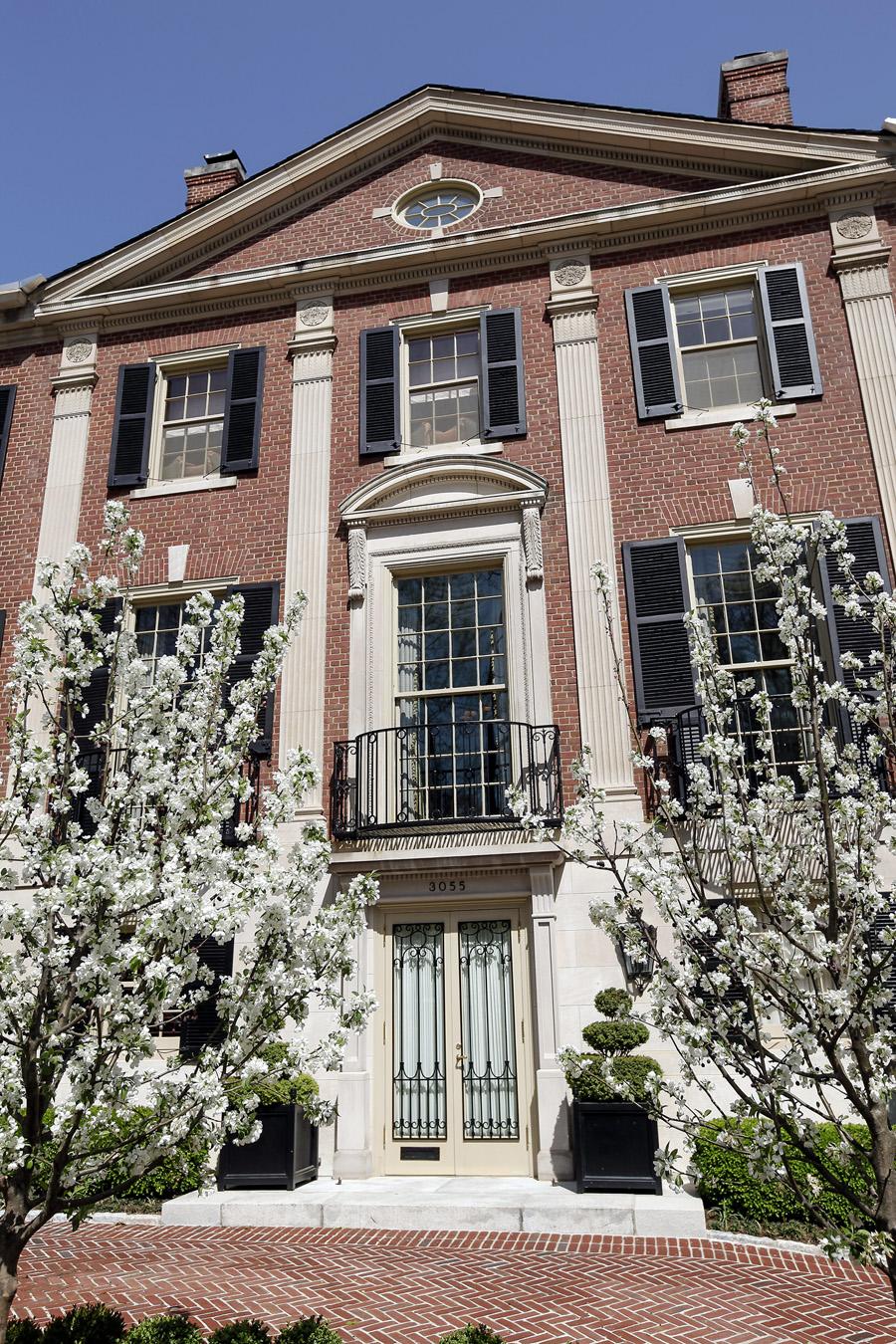 13 7 Million Historic Georgian Mansion In Washington Dc