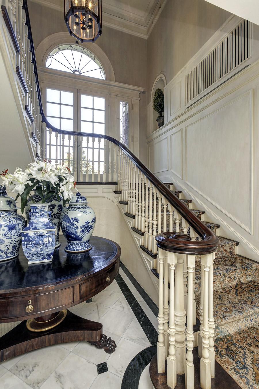 English Country Family Room: $13.7 Million Historic Georgian Mansion In Washington, DC