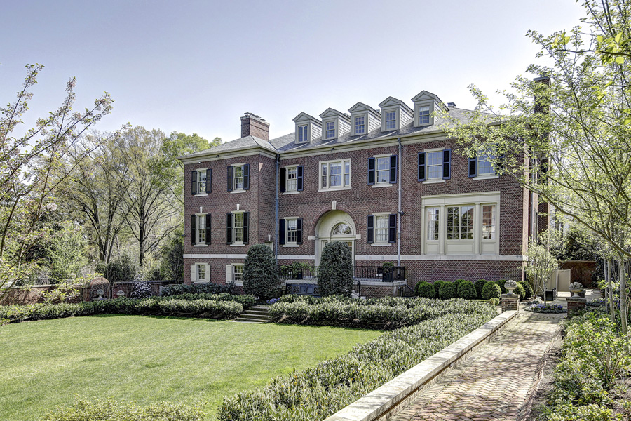 $13.7 Million Historic Georgian Mansion In Washington, DC