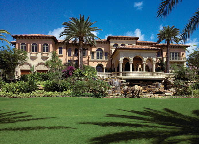 Opulent 33 000 Square Foot Oceanfront Mega Mansion In