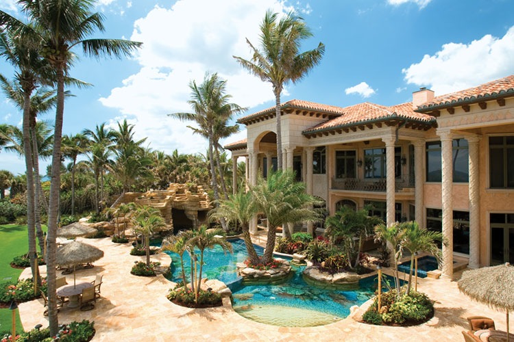 Ont 33 000 Square Foot Oceanfront Mega Mansion In North Palm Beach Fl Homes Of The Rich