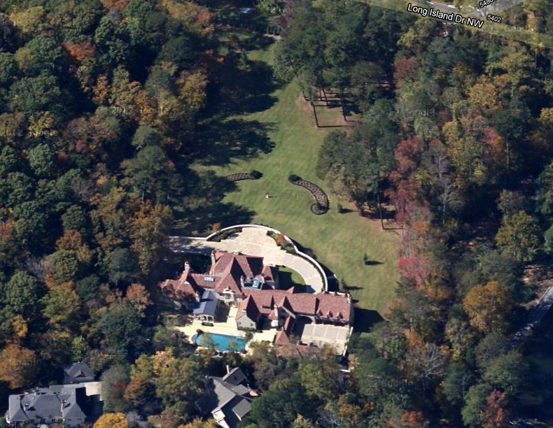Newly Built Atlanta Estate