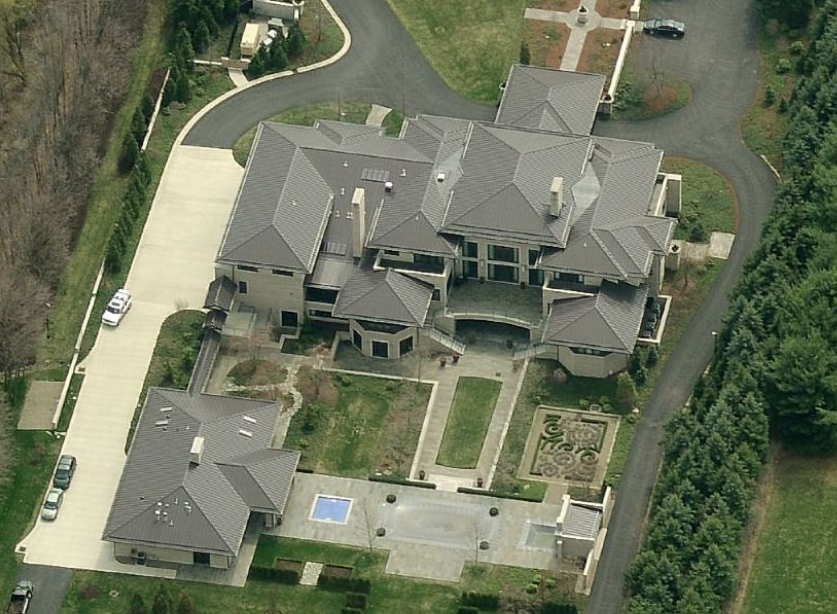 Updated Aerial Pics Of Lebron James' Ohio Mega Mansion