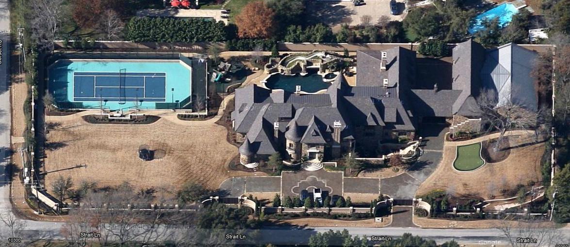 Updated Google Maps Aerial Pics Of Dallas Mega Mansions