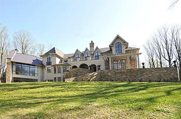 14,000 Square Foot French Style Mansion In Huntingdon Valley, PA
