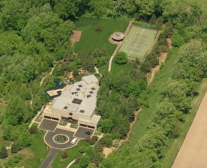 18 000 square foot contemporary mansion with 5 acre for How much is 5000 square feet