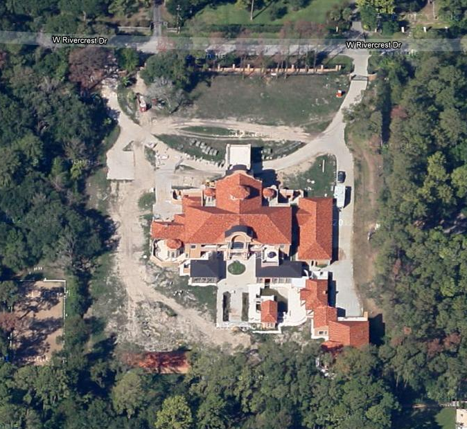 30,000+ Square Foot Houston Mega Mansion Now Visible In Google Maps