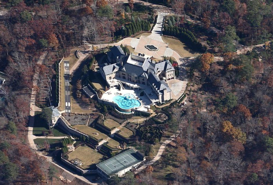 Tyler Perry's Atlanta Mega Estate Now Visible In Google Maps