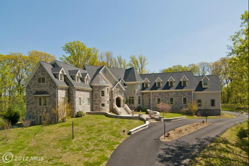 15 000 square foot chateau style mansion in mclean va