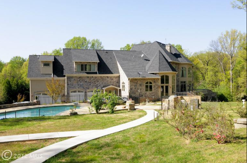 15,000 Square Foot French Chateau Style Mansion In McLean, VA