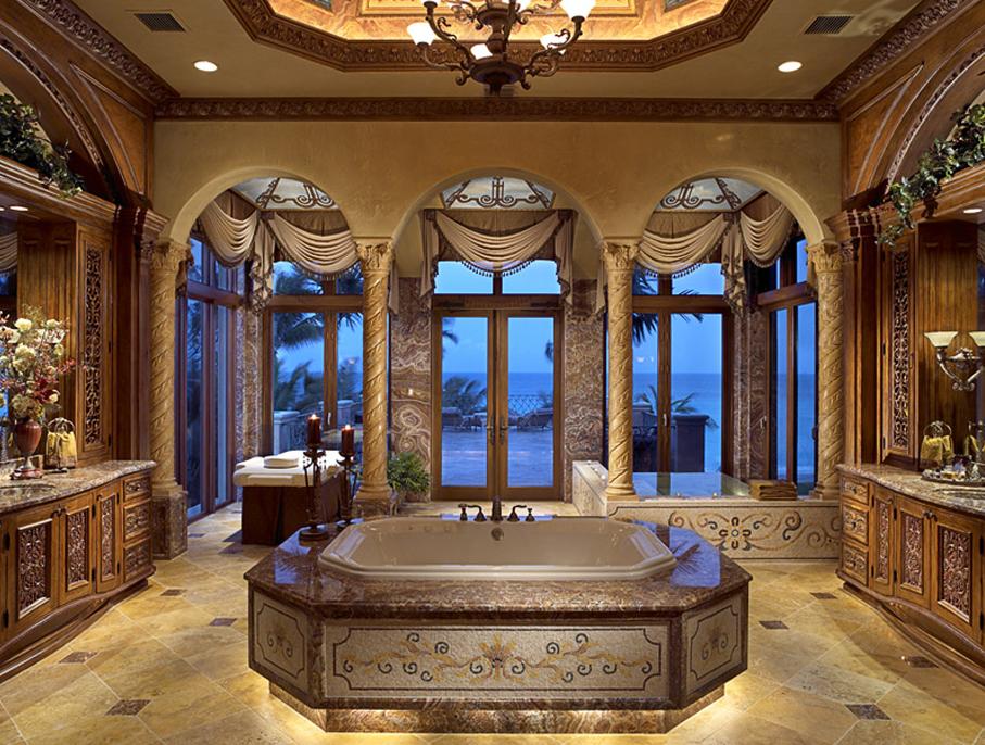 Opulent 33 000 square foot oceanfront mega mansion in for Cline homes