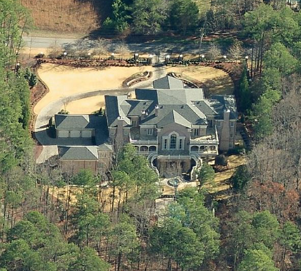 23,000 Square Foot Bill Harrison Designed Colonial In Roswell, GA