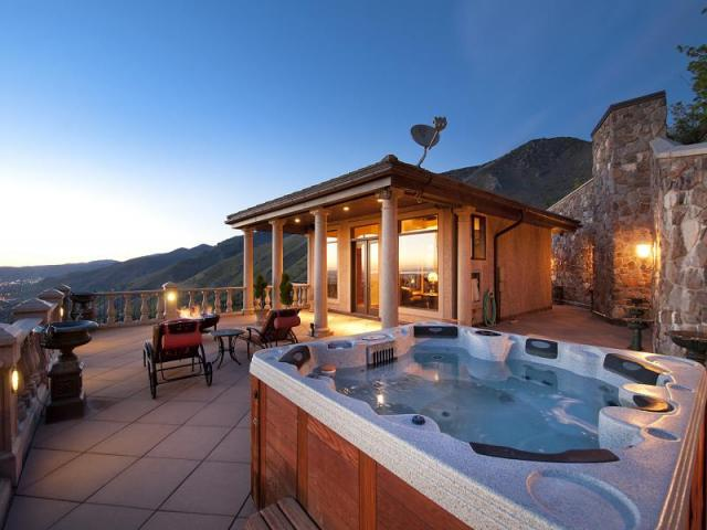13 000 Square Foot Mountaintop Mansion In Salt Lake City