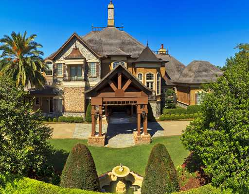 14 000 square foot french country mansion in ormond beach for French country beach house