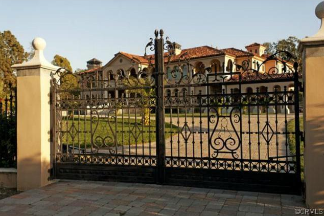 10 000 Square Foot Gated Mediterranean Mansion In Covina