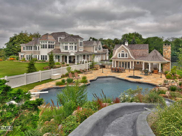 Million wilton ct estate with regulation size for Mini mansion homes