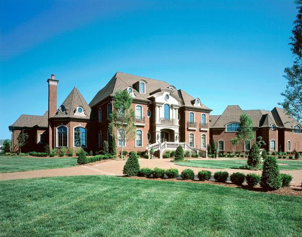 14 000 Square Foot Traditional Mansion In Brentwood Tn Homes Of The Rich