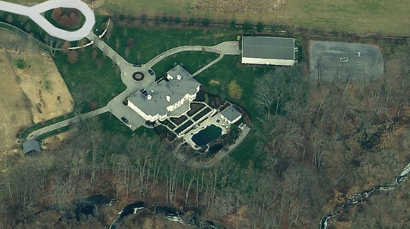 $13.9 Million Colts Neck, NJ Estate With Indoor Hockey Rink Facility
