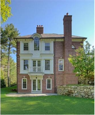 14,000 Square Foot Georgian Colonial In Weston, MA