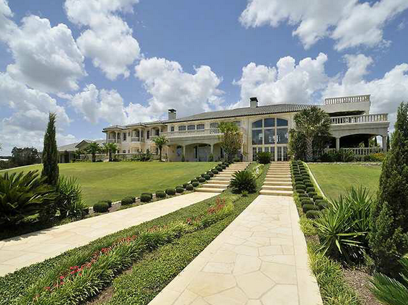 15,000 Square Foot Waterfront Mansion In Marble Falls, TX