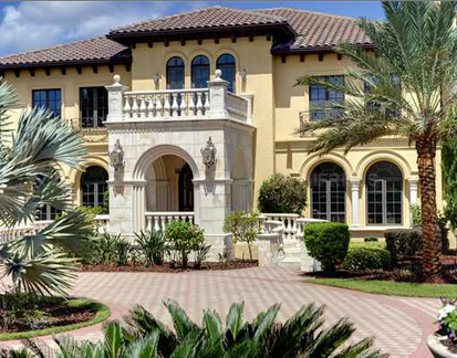 10,000 Square Foot Lakefront Mansion In Windermere, FL ...
