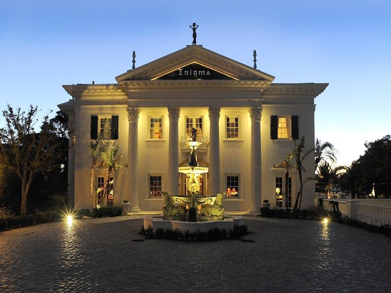 36 million classic villa in cape town south africa for Mansiones modernas