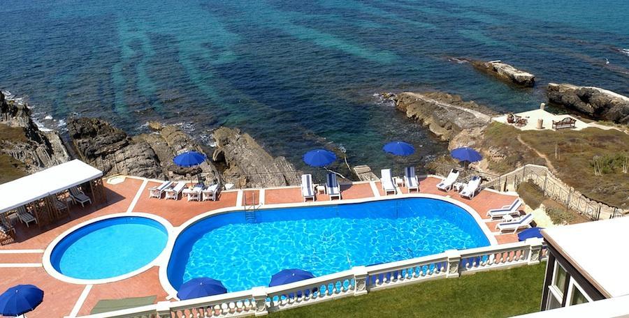 20,000 Square Foot Oceanfront Villa In Sardinia