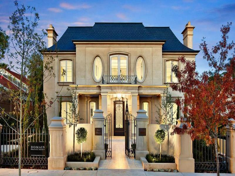Elegant french inspired home in victoria australia for House builders in victoria