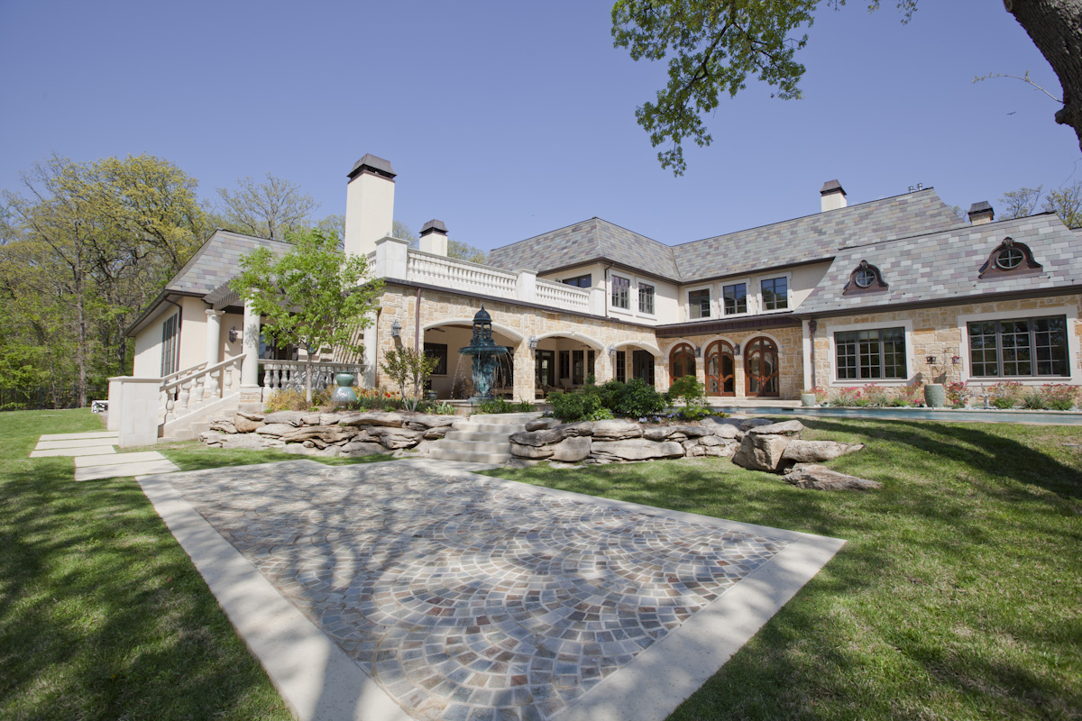Million art noveau style mansion in tulsa ok for Ok home builders