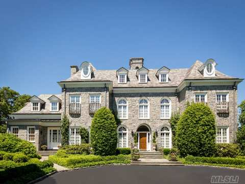 Stately Amp Elegant Fieldstone Mansion In Cold Spring Harbor