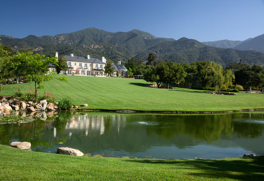 34 Million French Provincial Estate In Montecito Ca Homes Of The Rich