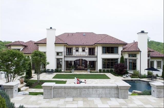 11,000 Square Foot Mediterranean Villa In Franklin, TN