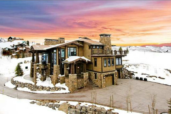 21 9 Million Contemporary Mountaintop Mansion In Park